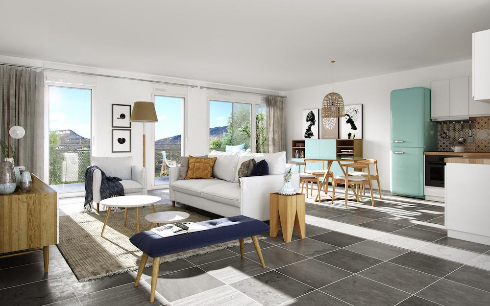 appartement neuf st-martin-le-vinoux